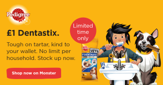 Monster Dentastix Pedigree