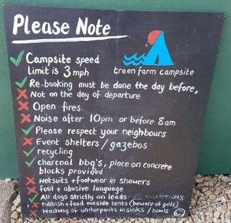 treen farm campsite rules